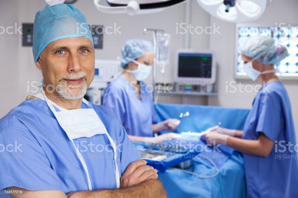 Surgical Prep stock photo