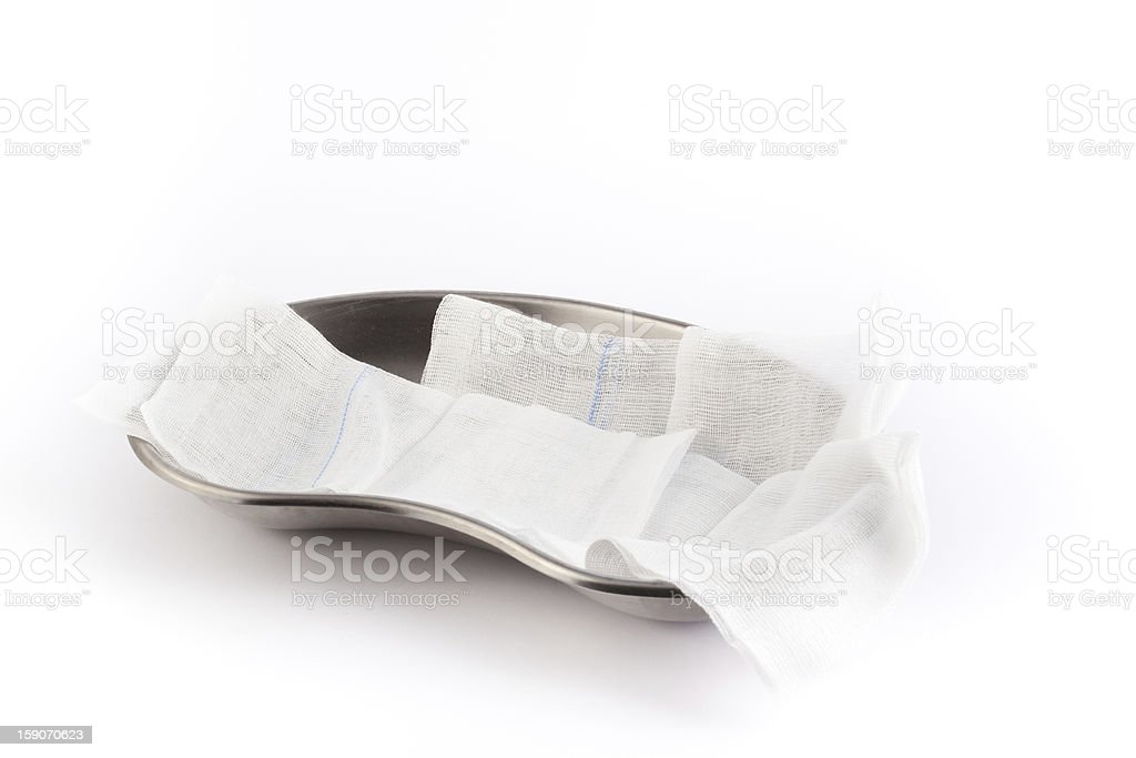 Surgical tray royalty-free stock photo
