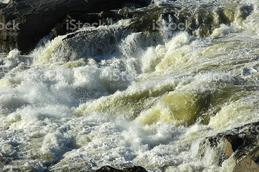 Surging Rapids royalty-free stock photo