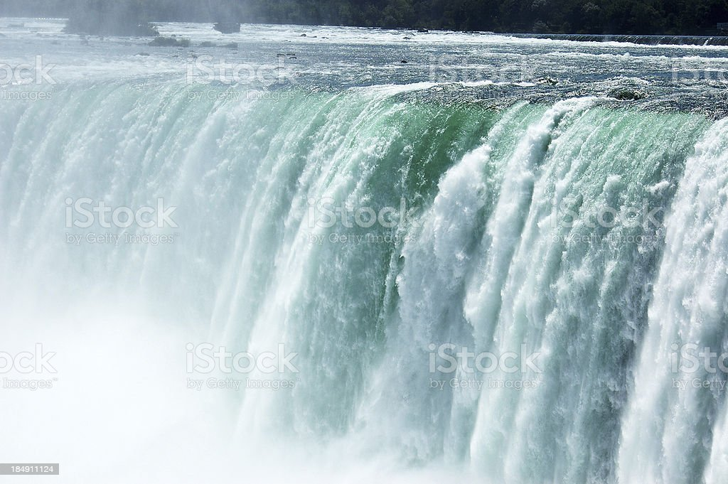Surging water royalty-free stock photo