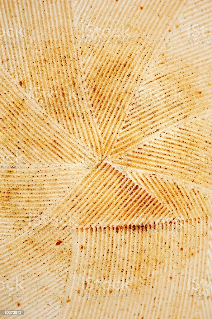 Suribachi Texture Background stock photo