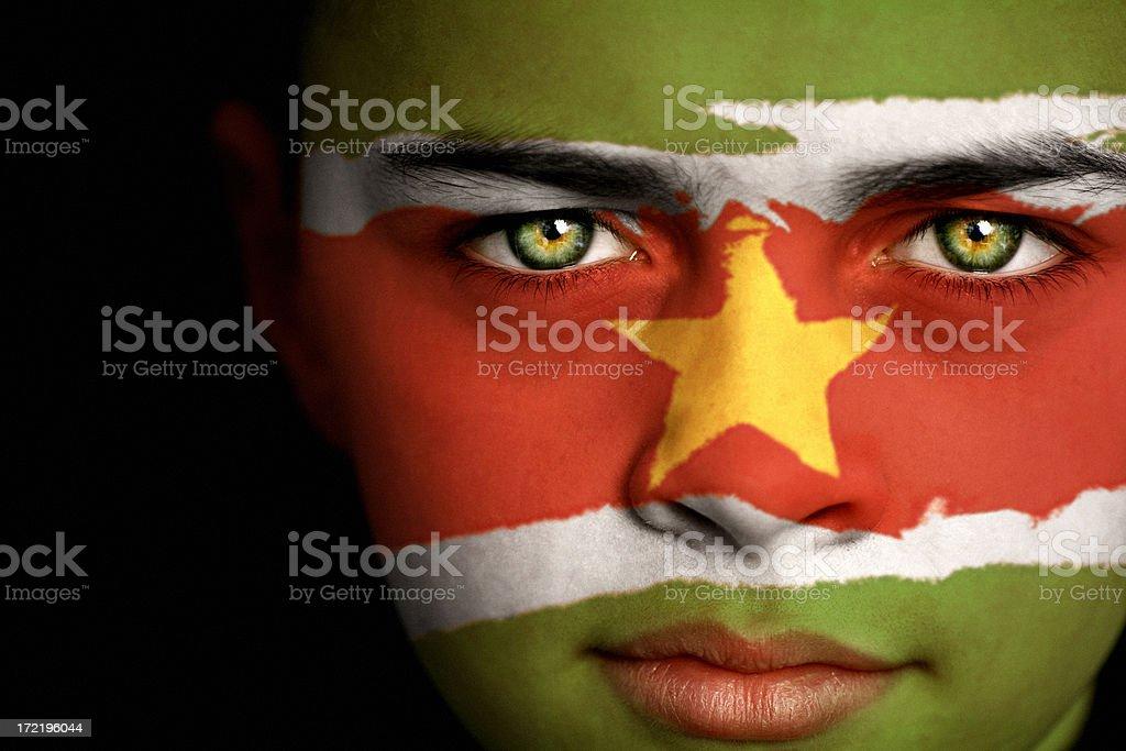 Suriname boy stock photo