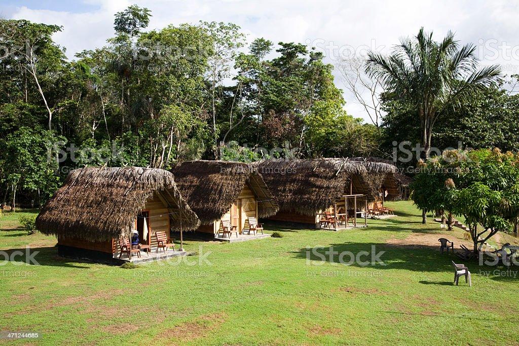 Suriname, hotel Botopasie. stock photo