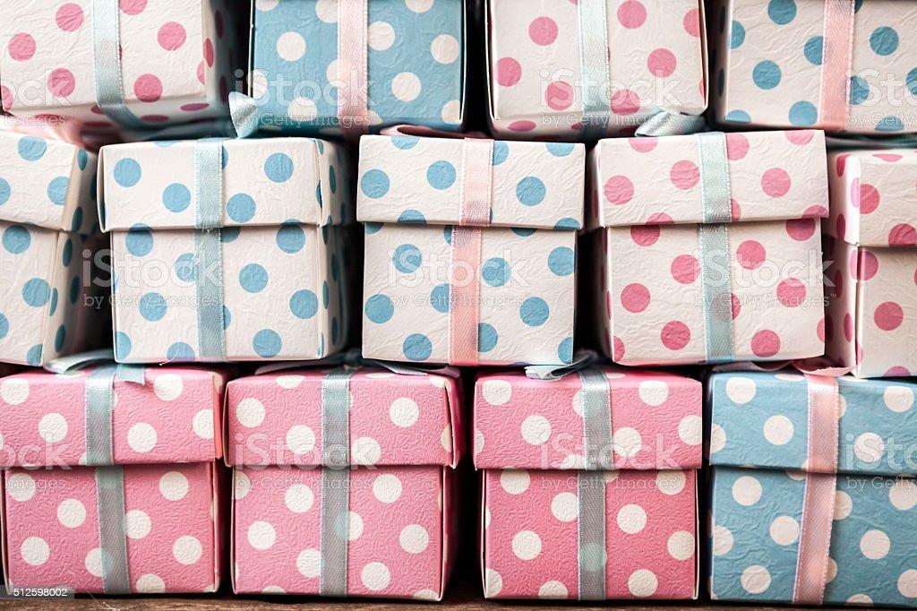 Surprise Boxes stock photo