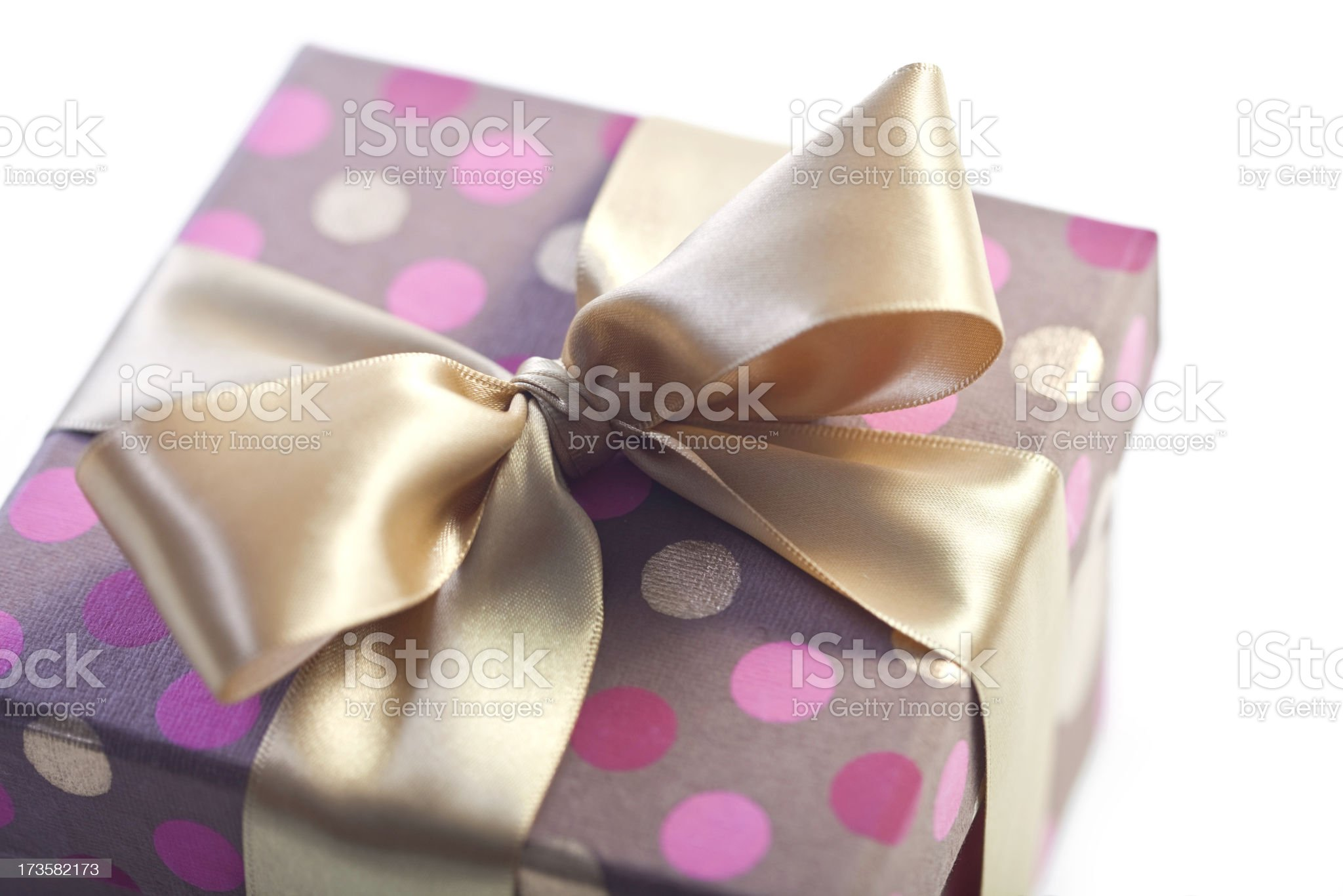 Surprise Gift Closeup royalty-free stock photo