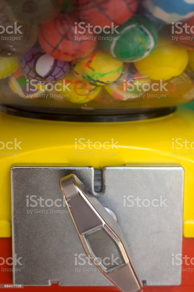 Surprise Gumball Machine stock photo