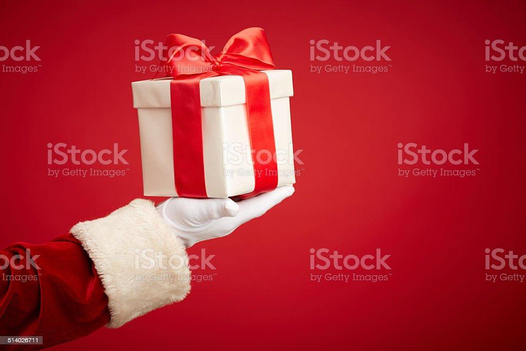 Surprise in box stock photo