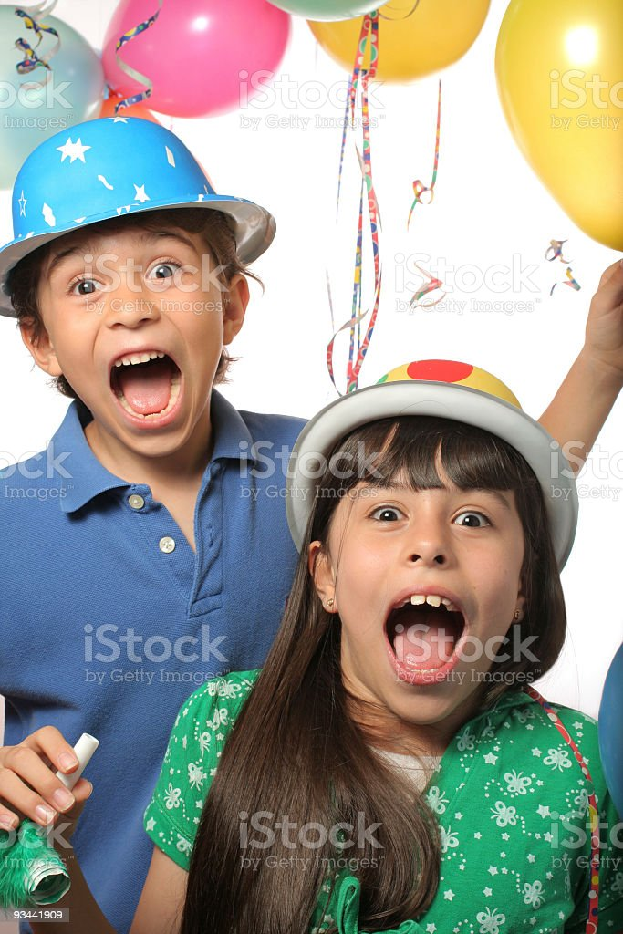 Surprise Party royalty-free stock photo
