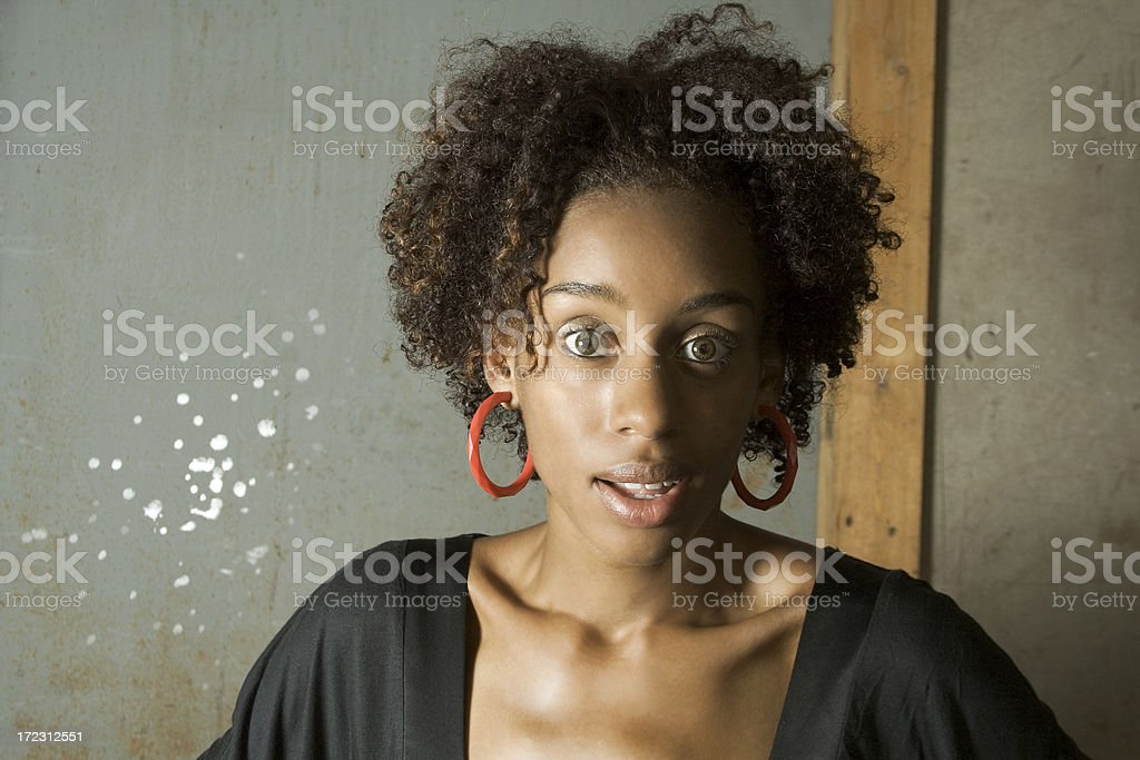 Surprise stock photo