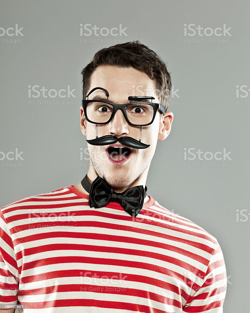 Surprise royalty-free stock photo