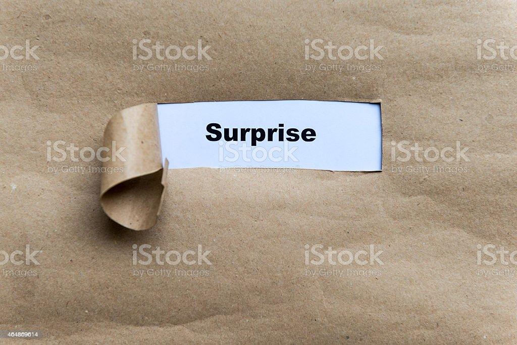surprise stock photo