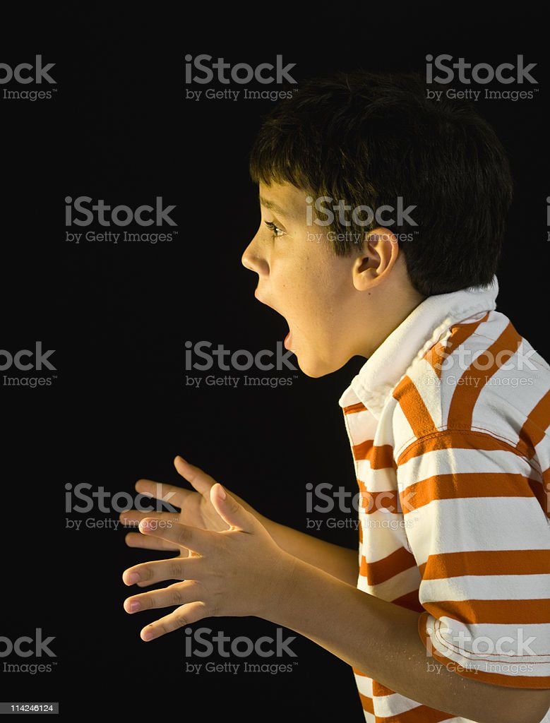 Surprised Child royalty-free stock photo