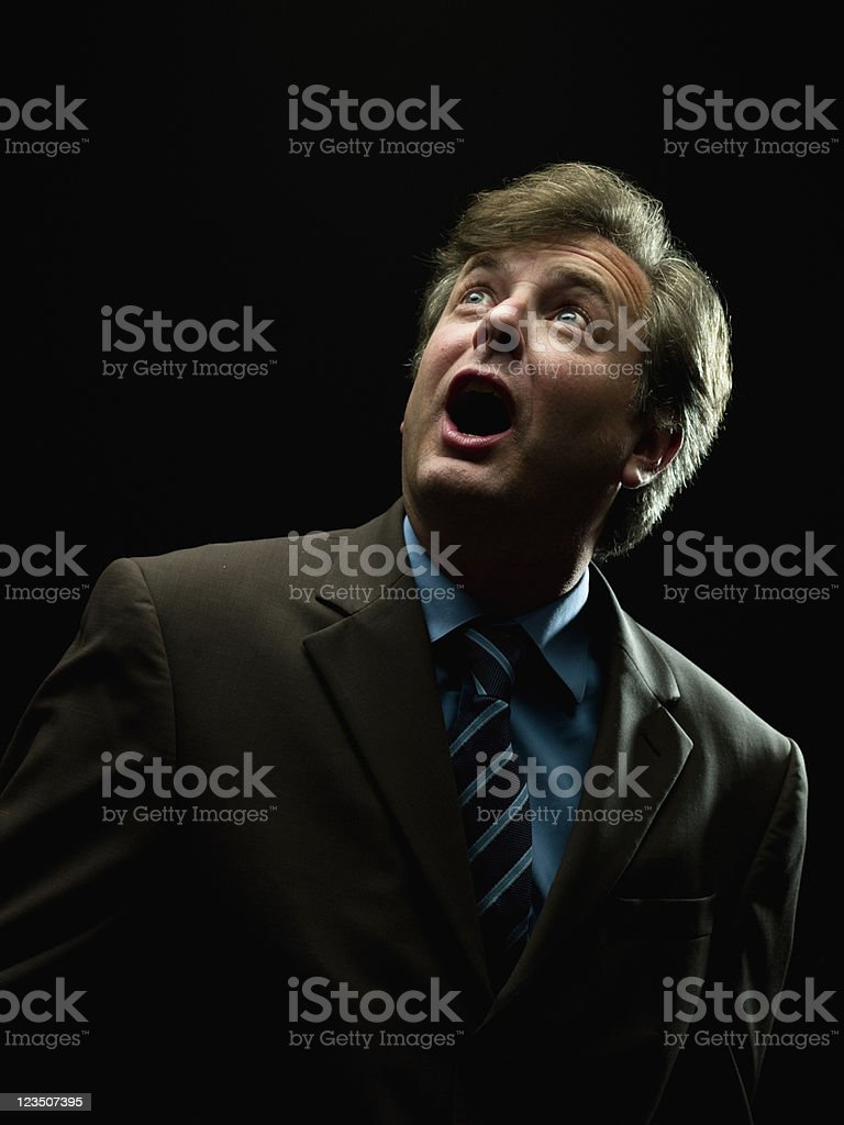 surprised executive royalty-free stock photo