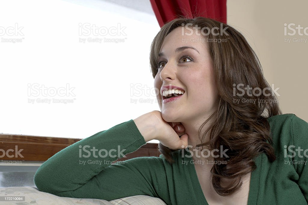 Surprised look royalty-free stock photo