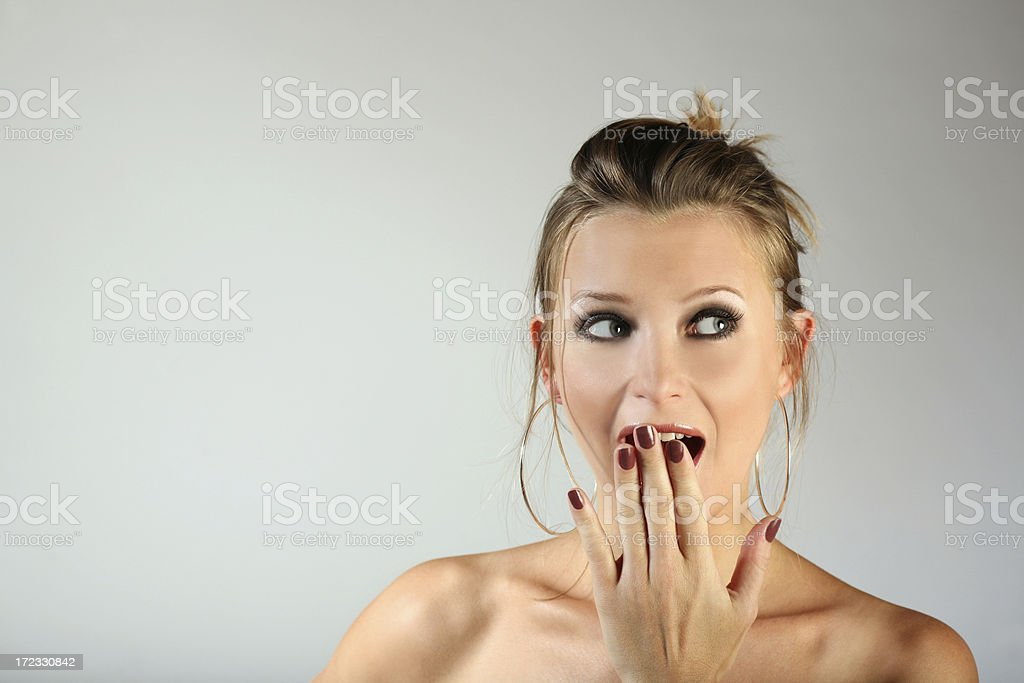 Surprised stock photo