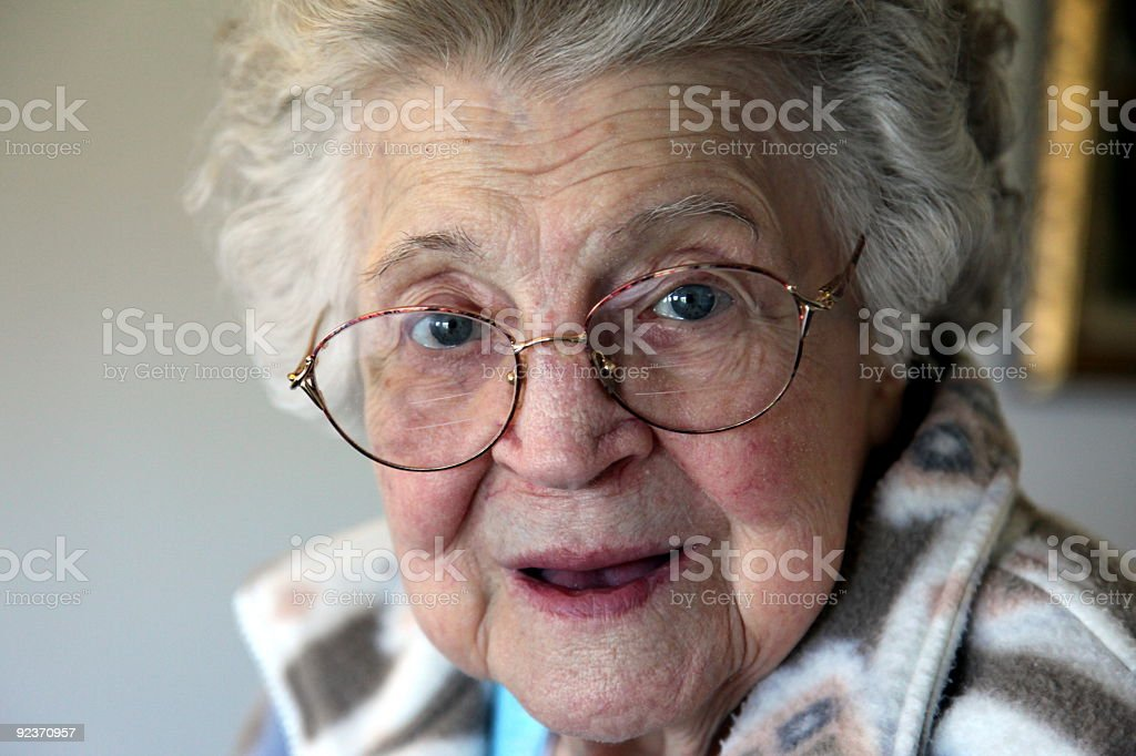surprised senior royalty-free stock photo