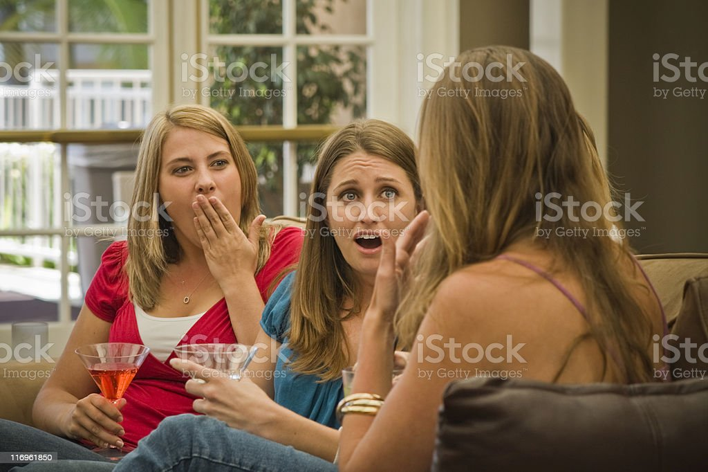 Surprising Chat royalty-free stock photo