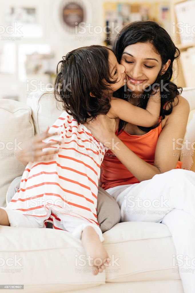 Surprising Secret to Raising a Well-Behaved Kid stock photo