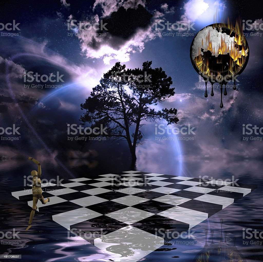 Surreal Composition stock photo