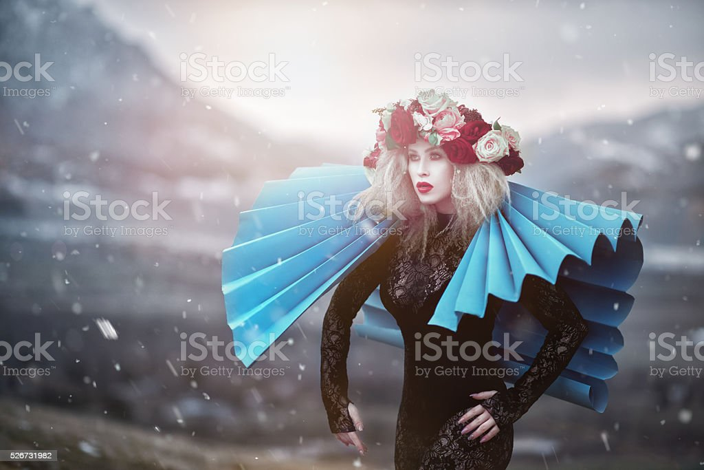 surreal glamour stock photo