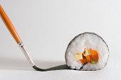 Surreal sushi maki