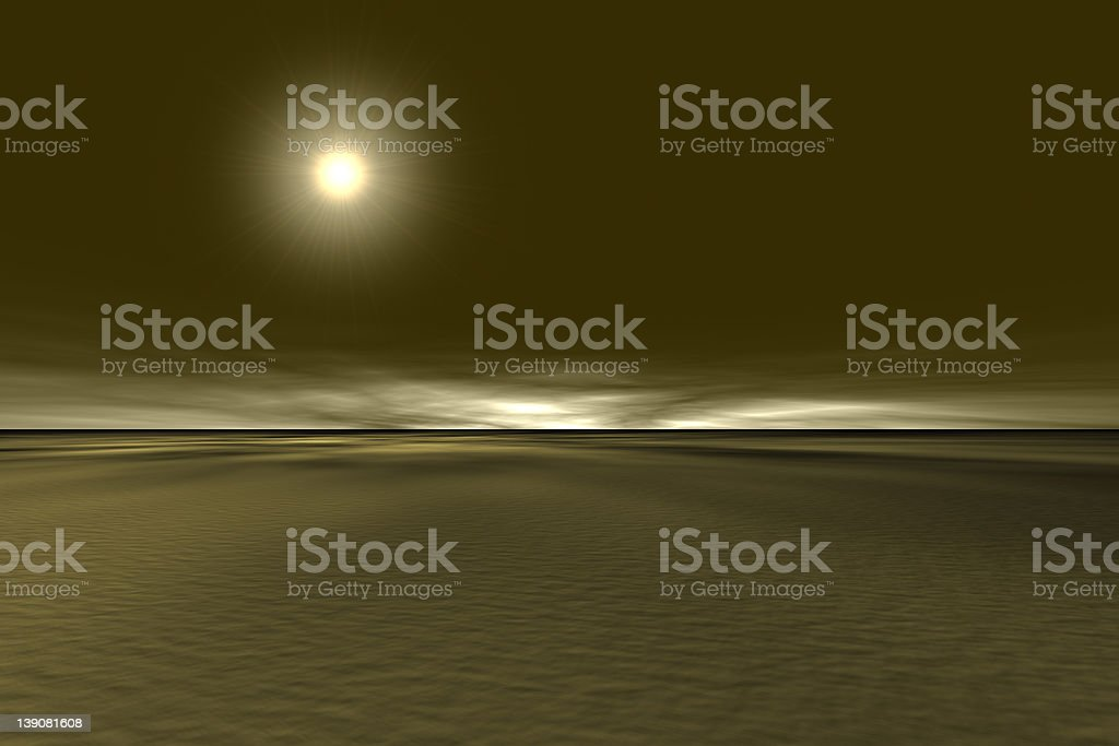 Surrealistic Landscape stock photo