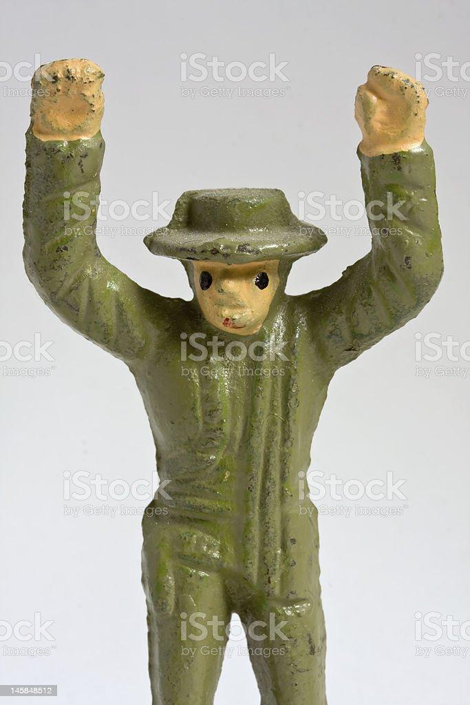 Surrender stock photo