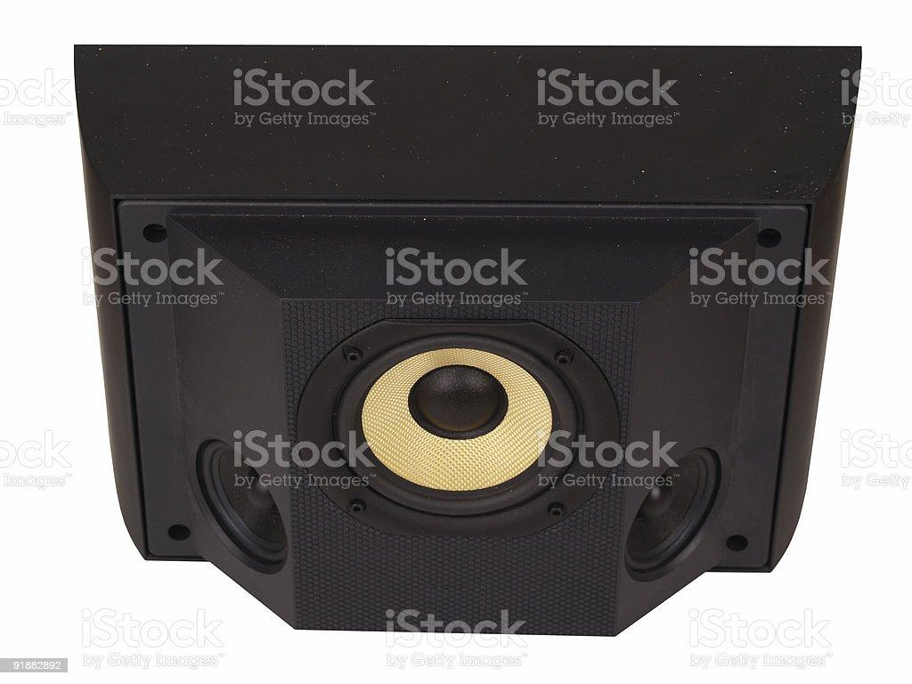 Surround sound speaker stock photo