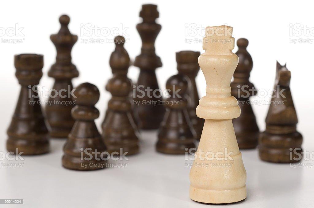 Surrounded royalty-free stock photo