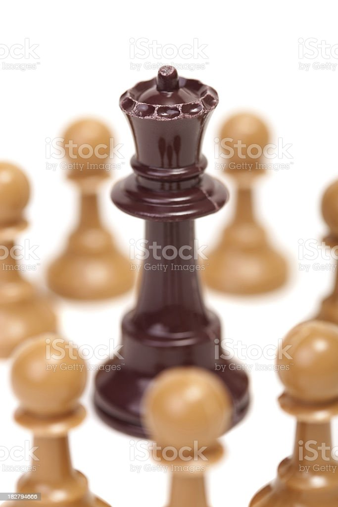 Surrounded with no way out royalty-free stock photo