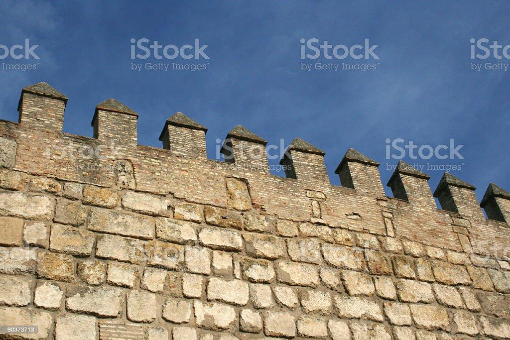 Surrounding wall Nobody royalty-free stock photo