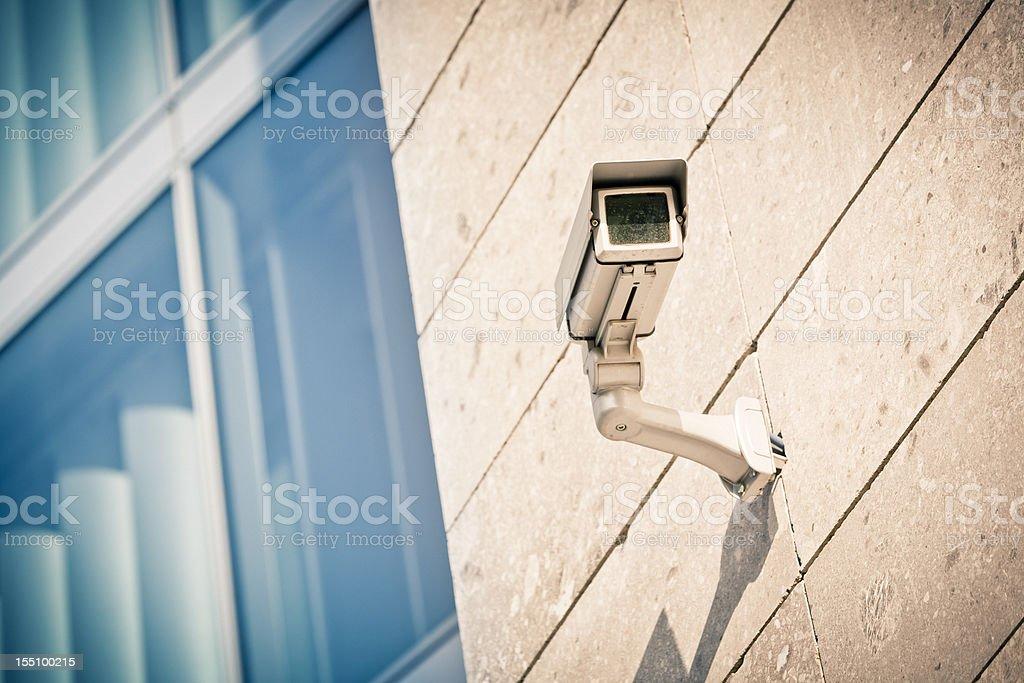 Surveillance Camera royalty-free stock photo