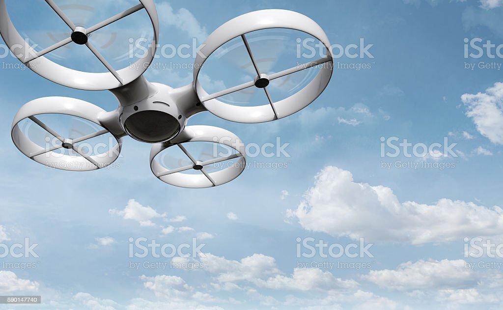 surveillance drone stock photo