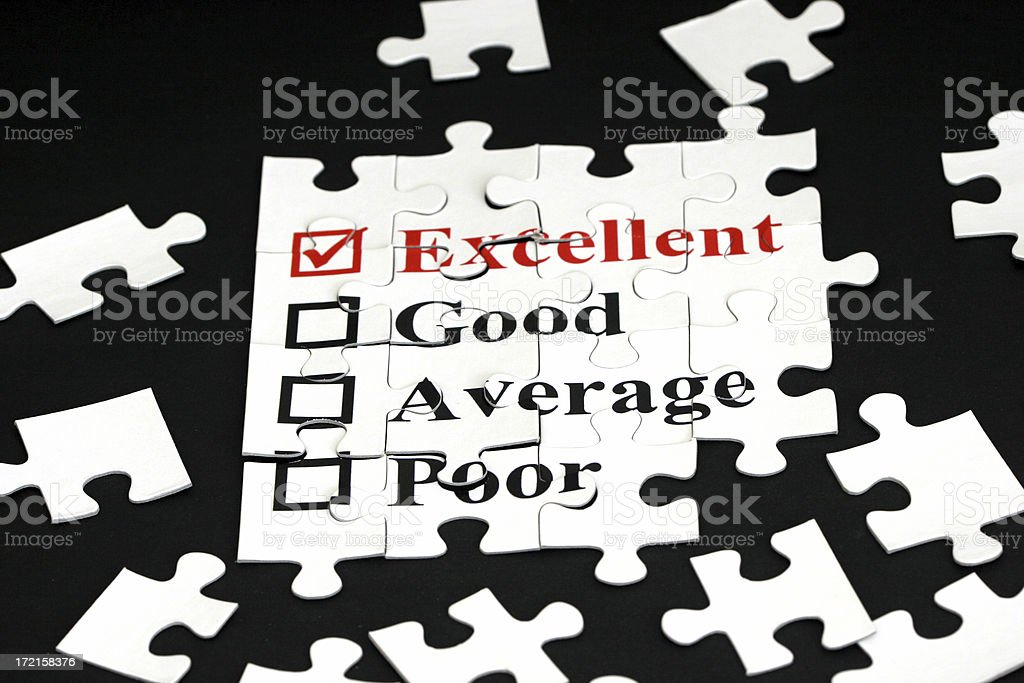 Survey royalty-free stock photo