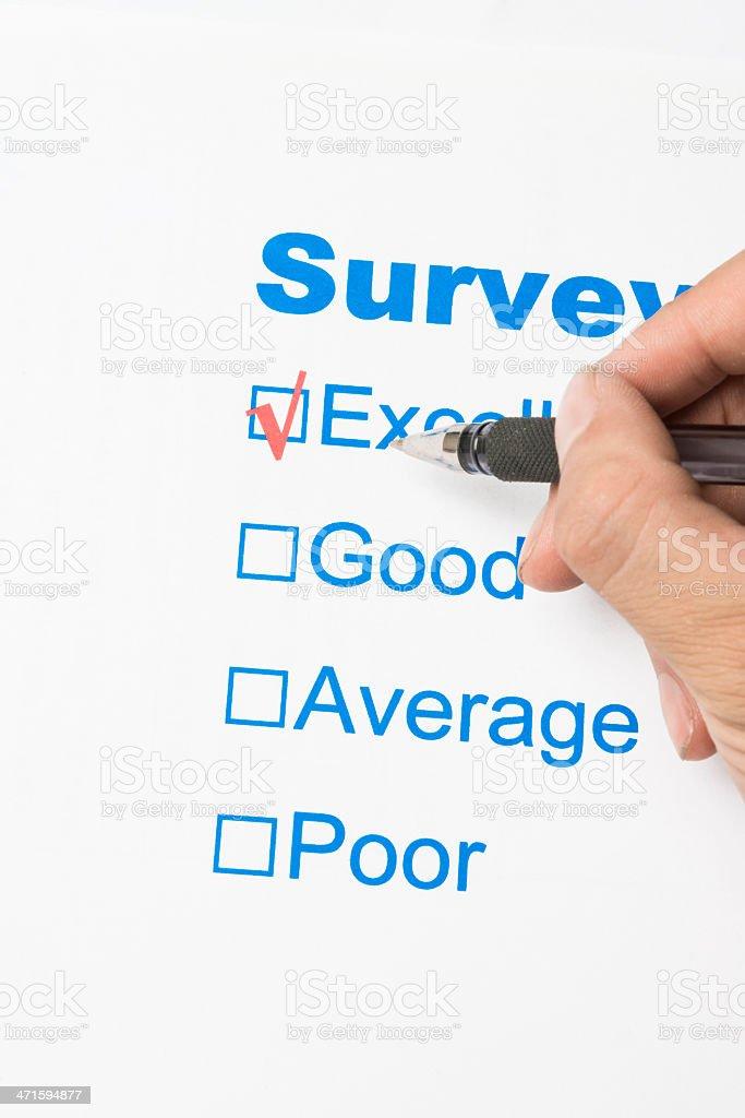 survey stock photo