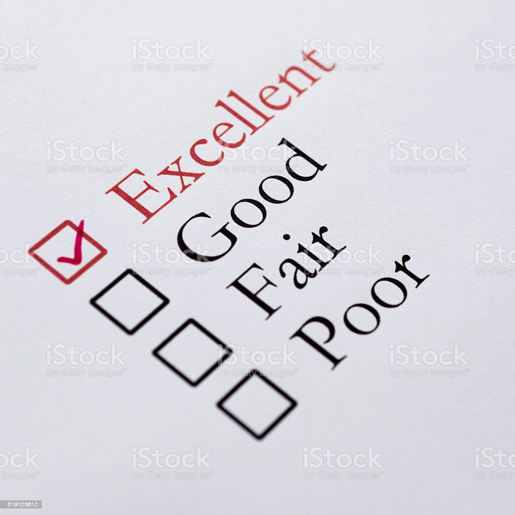 Survey stock photo