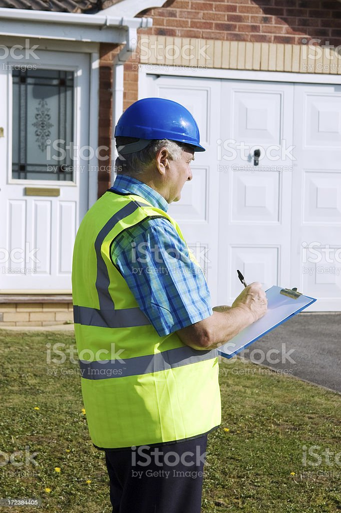 Surveying Property royalty-free stock photo