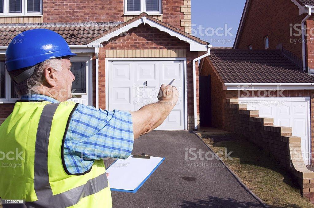 Surveying property royalty-free stock photo