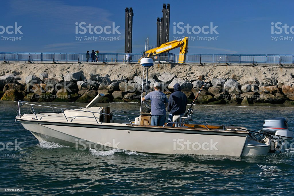 Surveying the Water Work royalty-free stock photo