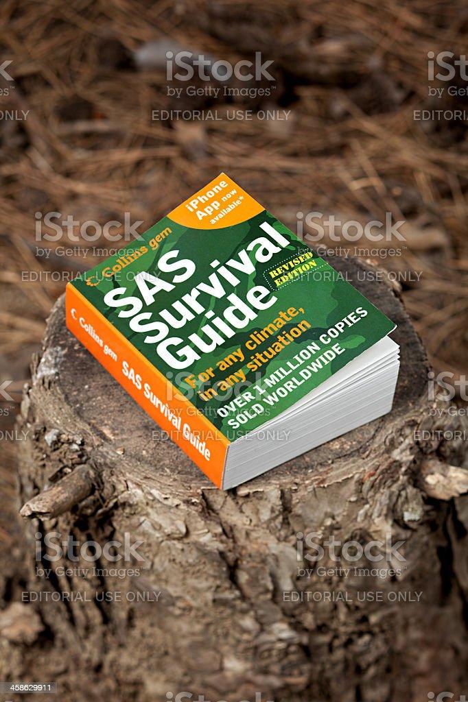 SAS Survival Guide stock photo