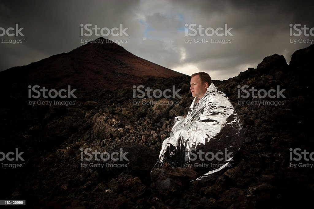 Survival royalty-free stock photo