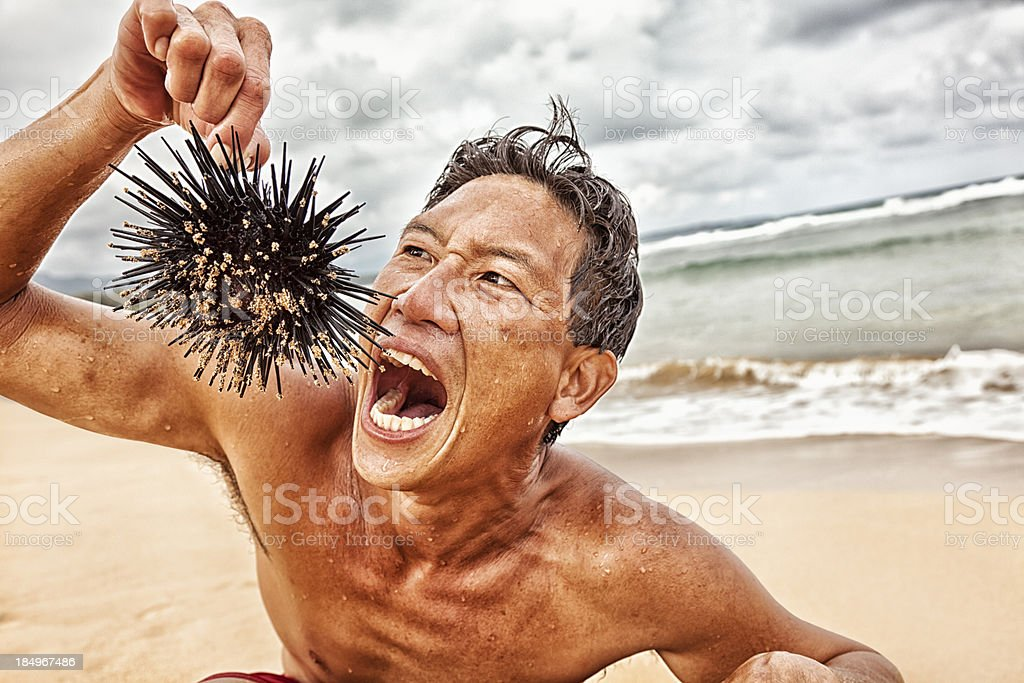 Survivor stock photo