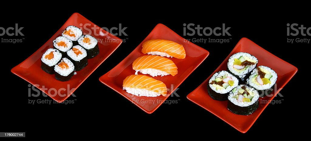 Sushi 01 royalty-free stock photo