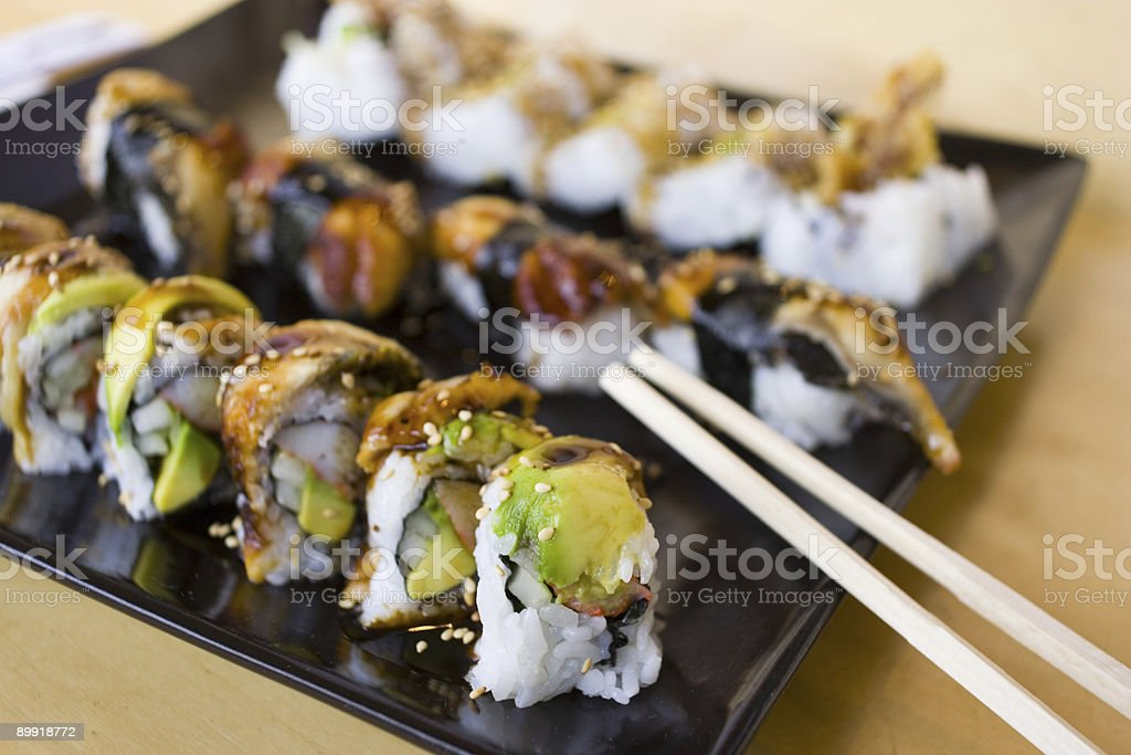 Sushi 1 royalty-free stock photo
