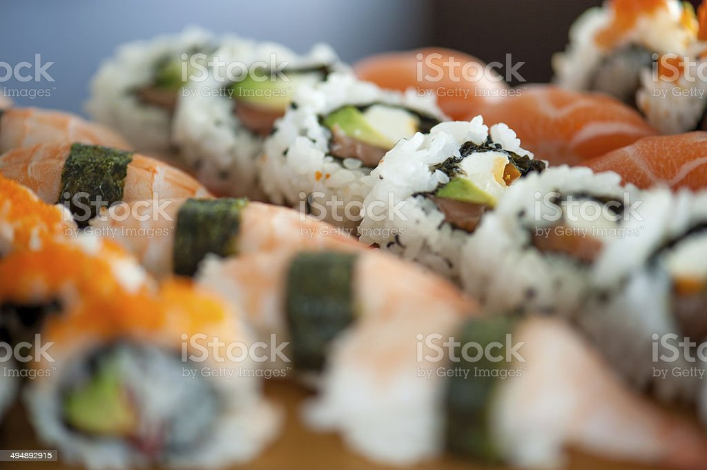 Sushi Assortment stock photo