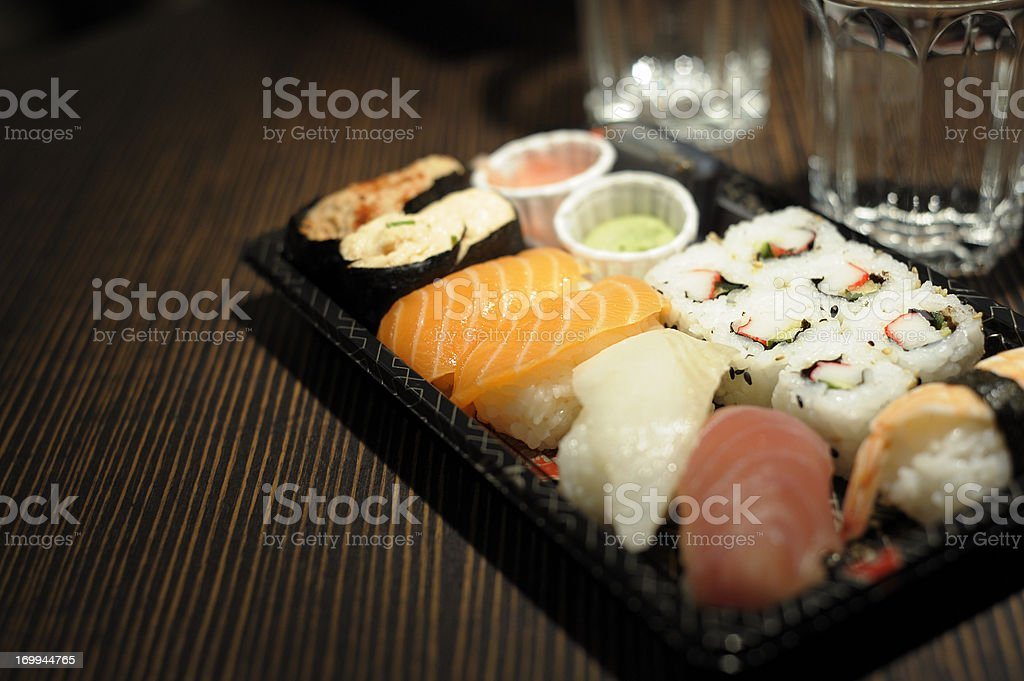 Sushi Bar Food royalty-free stock photo