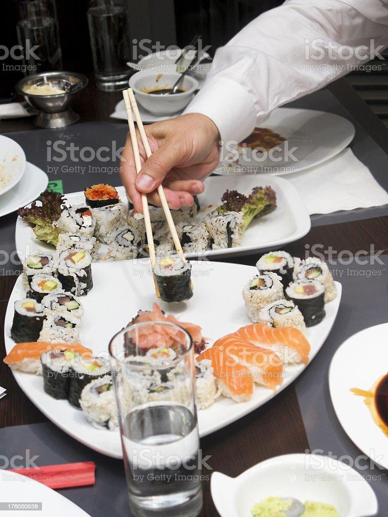 Sushi bar royalty-free stock photo