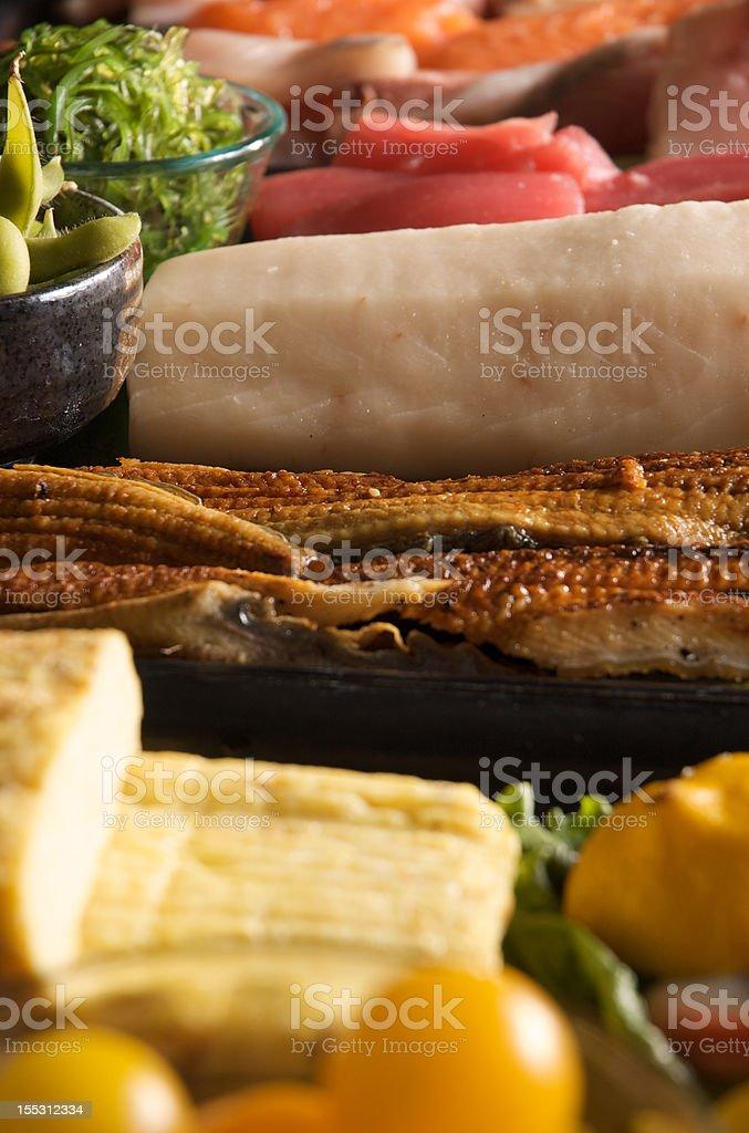 sushi bar vertical royalty-free stock photo