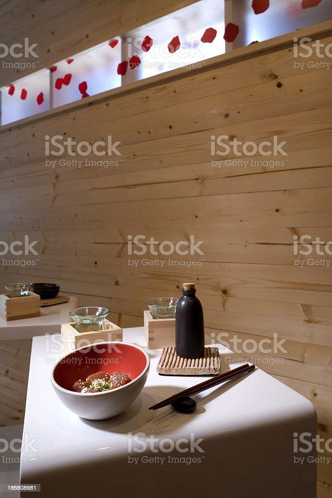 Sushi Cafe royalty-free stock photo