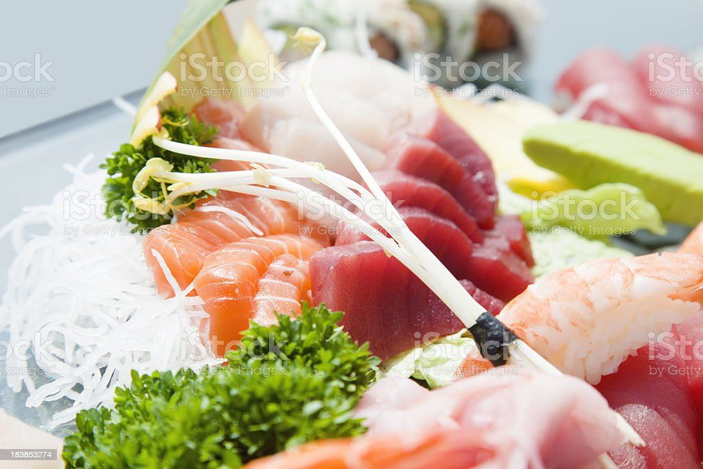 Sushi close-up royalty-free stock photo